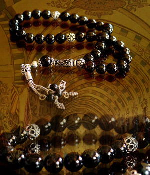 Prayer Beads with Onyx